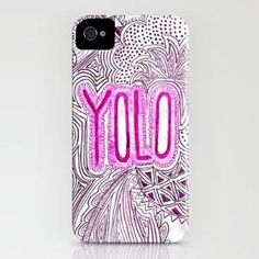 yololol iPhone Case by Taylor St. Claire | Society6