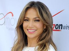 The shiny Jennifer Lopez
