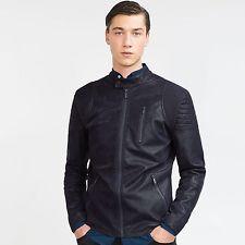 ZARA Man BNWT Navy Blue Biker Jacket Waist Length Coat S M L XL XXL 3501/300  $79.25    End Date:  May-21 13:51   Buy It Now for only: US $79.25  Buy it now    |  http://bayfeeds.com/ebayitem.php?i=172072832466&u=3464&f=3228