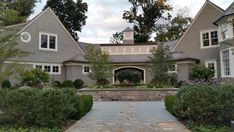 Maxwell Associates Inc Breezeway, Southport, The Incredibles, Homes, Mansions, House Styles, Houses, Manor Houses, Villas