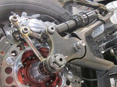 motorcycle rear suspension | Pin-up Motorcycle Garage*: Rear shocks
