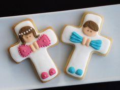 MARINITTAS. Cookies - Mi Primera Comunión - Cruz.
