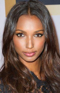 Victoria's Secret model Jasmine Tookes' smoldering eyeliner