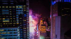 New York City: New Year's Eve Timelapse