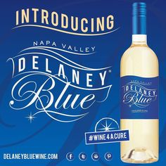 Introducing DELANEY BLUE! An Exciting NEW way to raise funds for Life Changing Research! Made in the Napa Valley. Created to link the enjoyment of LIFE and the desire to find a CURE for #T1D  Find out more! Sign up for the latest news and launch info! (Link in Bio) #Wine4aCure #winelover #inspire #dream #hope #cure #diabetesawareness #DBlue by t1dblue
