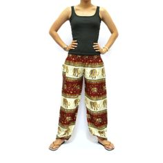 Screen Printing Harem pants/ Elastic Waist and by AsianChicShop, $15.99  harem pants, yoga pants, elephant pants, harem pant, aladdin pants, elephant, mens harem pants, womens yoga pants, women harem pants, harem pants pattern, aladdin pant
