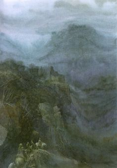 Tolkien By John Howe & Alan Lee - Imágenes Alan Lee, Tolkien Books, J. R. R. Tolkien, Lotr, John Howe, Hobbit Films, Alchemy Art, Principles Of Art, Photo Illustration