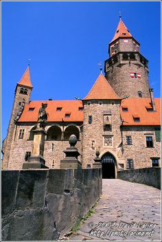 Bouzov Castle II. - Historical Moravia, CZECH REPUBLIC.