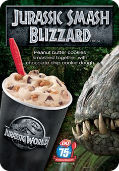 Jurassic Smash Blizzard® Treat. (Graphic: Business Wire)