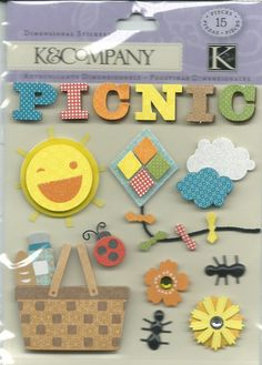 K & Company   Picnic  15 pieces  self by CynthiasCraftingNook