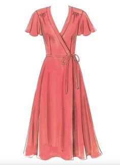 Favorite Wrap Dress Patterns