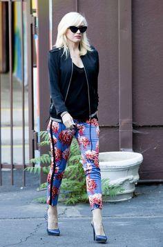 Gwen Stefani in her L.A.M.B. pants!