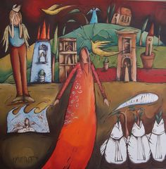 For the ultimate experience in art African Colors, South African Artists, Naive Art, Artist Gallery, Oil On Canvas, Folk Art, Alice, Artsy, Colours