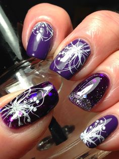 Canadian Nail Fanatic: Hold Onto Your Seat If You're A Purple Lover!