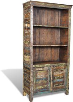 Boekenkast gerecycled hout met 3 planken en 2 deurtjes prijzen vergelijk je op Vergelijkprijs.nl ean-code 8718475868361 Bookcase, Shelves, Home Decor, Productivity, Products, Shelving, Decoration Home, Room Decor, Book Shelves