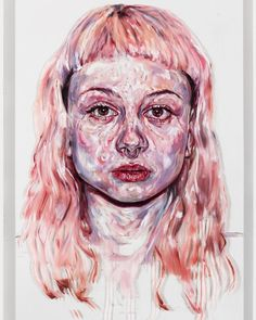 South Korea-raised, Melbourne-based artist Kim Hyunji (also known as Kim Kim Kim) crafts stirring oil portraits that experiment with texture and movement. The artist has said that unlike photograph… Melbourne, Creepy Tattoos, Music Backgrounds, Oil Portrait, A Level Art, Portraits, Texture Art, Character Drawing, Tumblr Girls