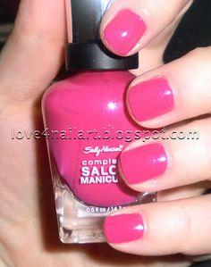 Sally Hansen Complete Salon Manicure Back To The Fuchsia