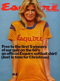 Candice Bergen for Esquire - just so effortlessly sexy! Vintage Magazines, Vintage Photos, Candice Bergen, Sore Eyes, Vogue Covers, Esquire, American Actress, Rage, Retro Fashion