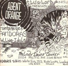Agent Orange flyer by Victor Gastelum.