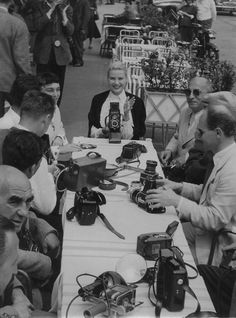 Grace Kelly....with her Camera Club