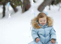 Snow baby photo