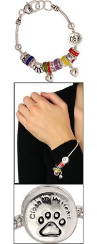 Charmed Life Paw Bracelet at The Animal Rescue Site #helptheanimals