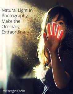 Natural light can make ordinary pictures, extraordinary. Learn natural light photography techniques like catchlights and how to capture light from windows. Quotes About Photography, Photography Lessons, Photography Tutorials, Digital Photography, Family Photography, Portrait Photography, Learn Photography, Outdoor Photography, Photography Articles