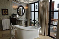 Lanzerac Bath Hotels, Spa, Clawfoot Bathtub, South Africa, Rooms, Wine, Inspiration, Design, Style