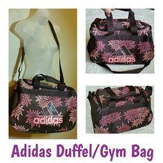 Lg Adidas Bag Brown n pink Adjustable shoulder strap No issues Adidas Bags  Travel Bags Adidas 845a9fea16