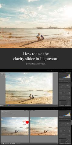 At the beginning of my journey as a photographer, I watched a lot of tutorials and read plenty of articles saying DO NOT TOUCH THE CLARITY SLIDER.