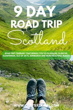 Read our Travel Itinerary for a 9 day Road Trip in Scotland for inspiration for your road trip through Glasgow, Glencoe, Isle of Skye and Edinburgh. Europe Destinations, Europe Travel Tips, New Travel, European Travel, Travel Trip, Travel Guides, Scotland Road Trip, Scotland Travel, Ireland Travel