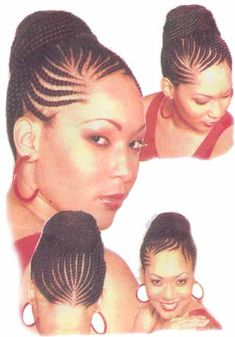 African American Updo Hairstyles | he Saying that hair is a womans crowning glory,