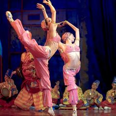 """Scheherazade"" choreography by Michel Fokine, revived by Isabelle Fokine and Andris Liepa, The Kremlin Ballet at Mikhailovsky Theatre"