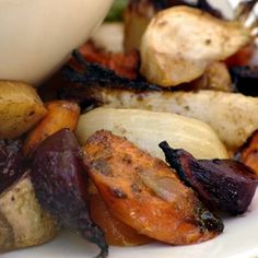 Balsamic roasted root vegetables 2