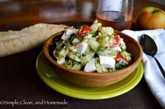 Pesto Pasta Salad. #Food #Recipe