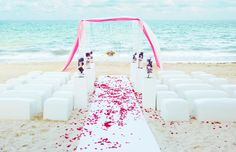Beach Wedding in Riviera Maya, Mexico #weddingideas
