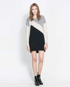 Catálogo vestidos Zara Otoño Invierno 2013-2014