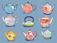 Teapots, by Del4yo