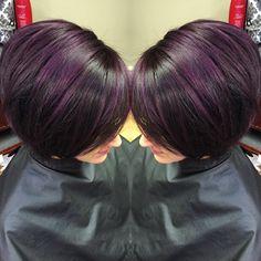 Purple 4vv by joico lumishine Kristina Shoesmith Hairstyling @_kshair