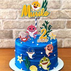 Spiderman Birthday Cake, Shark Birthday Cakes, Mickey Party Decorations, Boys First Birthday Party Ideas, Shark Cake, Beaded Boxes, Minions, Cake Images, Girl Cakes