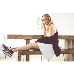 Brandi Cyrus looks way too adorable rocking Sk8-Hi Slims in the May issue of Naked Magazine.