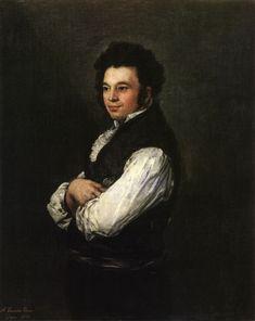 Francisco de Goya - Tubercio Pérez Cuervo
