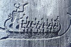 Gravure rupestre Site de Tanum en Suède (Côte ouest)
