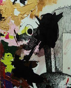 Acrylique monstre 60x50cm http://www.alison-karmusik.com/