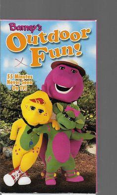 Barney : Barney's Outdoor Fun VHS