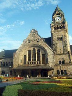 Gare de Metz / Metz train station