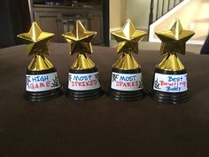 Bowling trophy prize ideas for kids bowling party  Janny Brite :)