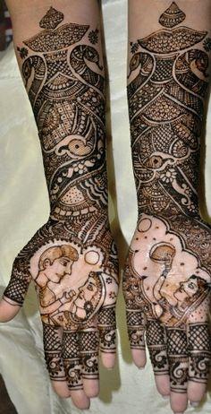 20 Unique Karva Chauth Mehndi designs: Let's Get Dressed Karva Chauth Mehndi Designs, Hand Henna, Get Dressed, Hand Tattoos, Unique, Beautiful, Dresses, Vestidos, Dress
