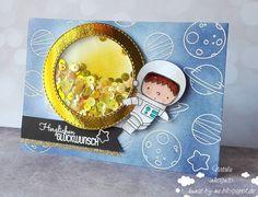 INKognito ~ Cards by Natalie: Space Birthday / Weltraumgeburtstag #sevenhillscraft #mftstamps