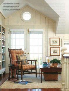 Quiet and cozy corner.